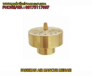 Distributor Nozzle Air mancur Fixed Blossom murah